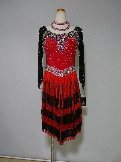 <レンタル>衣装 社交ダンス ドレス Lサイズa096-a