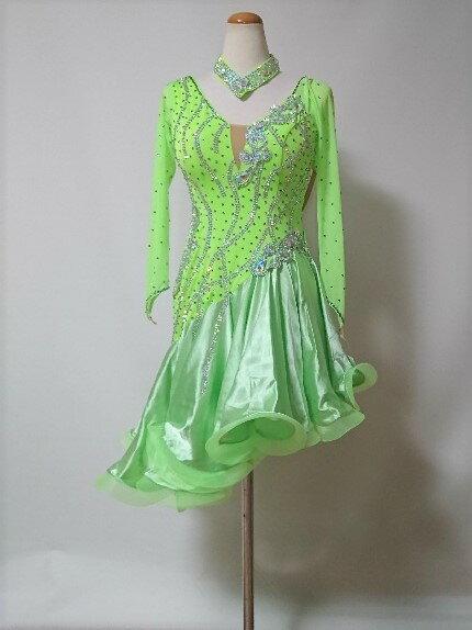<レンタル>衣装・社交ダンスドレス Mサイズk0200
