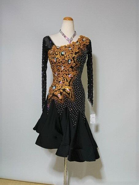 <レンタル>衣装・社交ダンスドレス Mサイズv0879