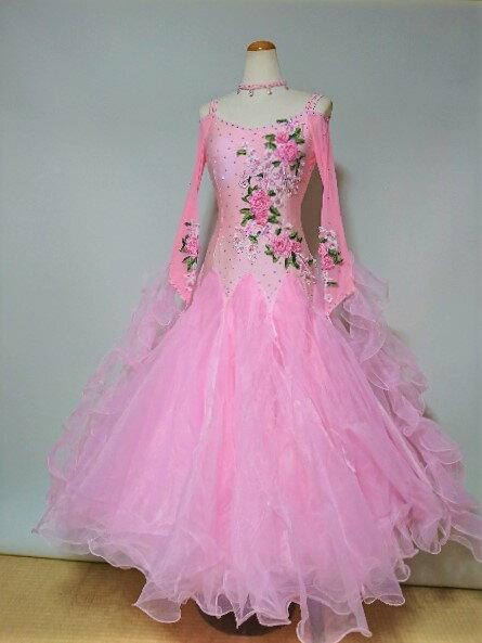 <レンタル>社交ダンス 衣装 ドレス フォーメーションm29