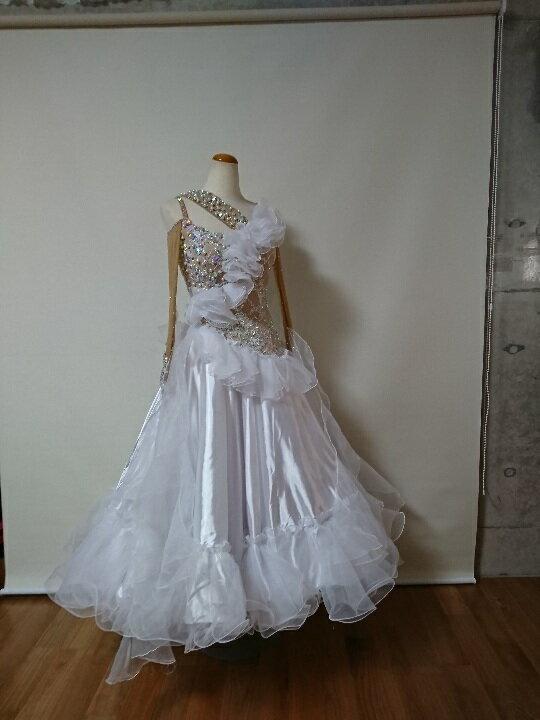<レンタル>衣装 社交ダンス ドレス Sサイズz128
