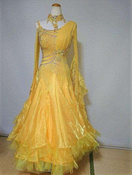 <レンタル>衣装 社交ダンス ドレスy1260 Mサイズ