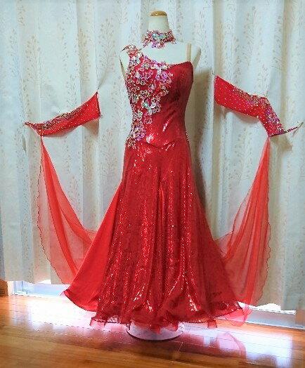 <レンタル>衣装 社交ダンス ドレスsサイズy4534