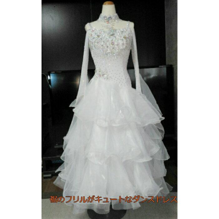 <レンタル>衣装 社交ダンス ドレスSサイズ B269