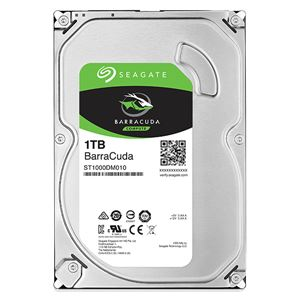 パソコン・周辺機器, その他 Seagate Guardian Barracuda 3.5HDD 1TB SATA6.0Gbs 7200rpm 64MB