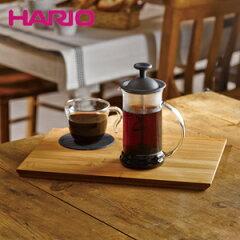 HARIO(ハリオ)のプレス式コーヒーメーカー!押すだけでコーヒーを抽出♪ プレゼントHARIO ハリ...