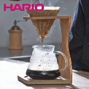 ★HARIO ハリオ V60オリーブウッドスタンドセット VSS-1206-OV JAN: 4977642021259【あす楽】