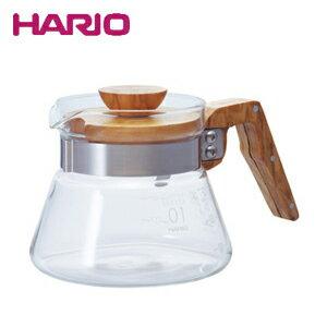 ★HARIO ハリオ コーヒーサーバー400オリーブウッド VCWN-40-OV JAN: 4977642019324【配送日指定】【あす楽】