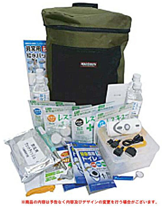 エマージェンシーセット150 RR-ES-150 災害 非常用 緊急事態 地震 余震 水害 台風 自然災害 非常食 防災 避難 水 簡易トイレ 救急箱 備え 1ケース6個入り