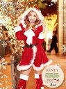 サンタ コスプレ サンタ 衣装 長袖 大きいサイズ M L ...