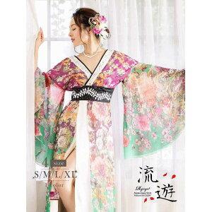Oiran japanisches Muster Kleid Oiran Kleid Kimono Kleid japanisches Muster Oiran Kostüm Cosplay Begleiter Caba Kleid sexy lange Kimono Flow erotische Erotik Kleid auffällig Oiran beliebte Veranstaltung auffällige Kimono Stil Kabarett Cosplay Cosplay große Größe am selben Tag japanischen Stil morgen
