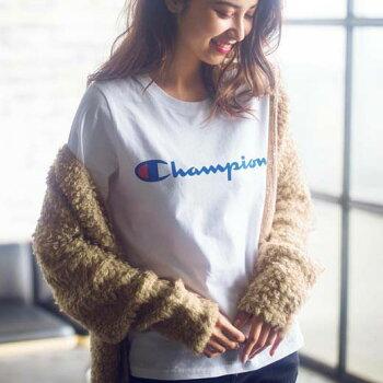 タンクトップレディース夏XLMLサイズ<チャンピオン>プリントTシャツryuryuリュリュ30代ファッションレディース