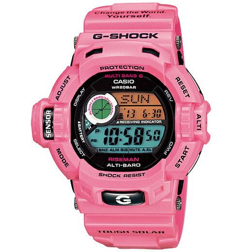 G−SHOCK メンズ腕時計 ピンク GW−9200KJ−4JR