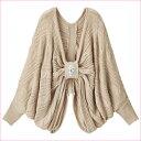 ●SALE!!セール●ビジュー付リボンニットボレロ ryuryu/リュリュ らなん 30代 ファッション レディース アウトレット 白 ホワイト