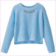 トップス セーター レディース ビジュー リュリュ ファッション アウトレット