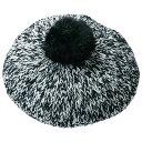 ●SALE!!セール●ファーポンポン付ミックスニットベレー帽 ryuryu/リュリュ らなん 30代 ファッション レディース アウトレット