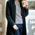 ●SALE!!セール●裏ボアロングニットコート(M〜L) ryuryu/リュリュ らなん 30代 ファッション レディース アウトレット