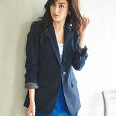 ジャケット/M/LL/L/3Lロングプリントテーラードジャケット ryuryu/リュリュ らなん ラナン Ranan 30代 40代 ファッション レディース