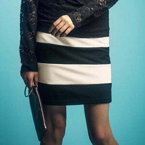 スカート レディース ラインバンテージスカート リュリュ ファッション