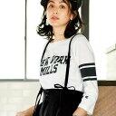 【クーポン配布中】Tシャツ XL M L 3L<Champion>ロゴTryuryu/リュリュ 30代 40代 ファッション レディース ラナン Ranan 春服 Tシャツ