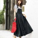 ジャンパースカート S M LL Lサロペットデザインジャンパースカート(S〜LL)ryuryu/リュリュ 30代 40代 ファッション レディース GeeRA ジーラ 夏服 ボトムス スカート おしゃれ 上品 サマーセール