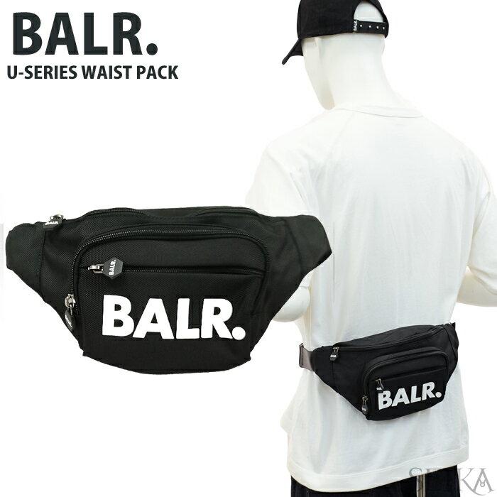 男女兼用バッグ, ボディバッグ・ウエストポーチ (5) BALR. U-SERIES WAIST PACK BLACK (CPT)