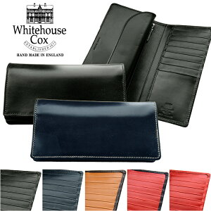 buy popular 6c0d0 70fc1 ホワイトハウスコックス(WHITE HOUSE COX) メンズ長財布 | 通販 ...