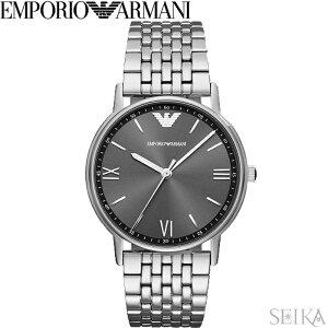 【10%offクーポン配布中】【レビューを書いて5年保証】【スプリングクリアランス】エンポリオアルマーニ EMPORIO ARMANI AR11068時計 腕時計 メンズ グレー シルバー