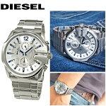 【楽天スーパーSALE】ディーゼル/DIESELメンズ腕時計時計【DZ4181】シルバーChronograph(クロノグラフ)新品、本物、当店在庫だから安心