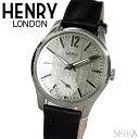 【レビューを書いて5年保証】【スプリングクリアランス】ヘンリーロンドン HENRY LONDON 時計 30mm レザーHL30-US-0073(57)ウォッチ レディース ホワイトデー