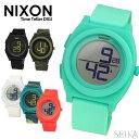 ニクソン NIXON ボーイズ(メンズ レディース 兼用) 時計【A417】全6色 迷彩 ブルー ホワイト ブラックTi...