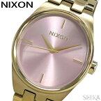 【今なら豪華特典付き】【レビューを書いて5年保証】ニクソン NIXON アイドル A953-2360 A9532360 時計 腕時計 レディース ピンク ライトゴールド(D10) ギフト ブランドウォッチ