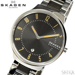 【在庫一掃セール】スカーゲン SKAGEN SKW6523 時計 腕時計 メンズ グレネン GRENEN ステンレス グレー シルバー ギフト ブランドウォッチ (商品入れ替え)