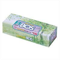 驚異の防臭袋BOS(ボス)LLサイズ60枚入り大人用おむつ・うんち処理袋【袋カラー:ホワイト】