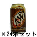 A&W ルートビア 355ml ×24缶セット (ROOT ...
