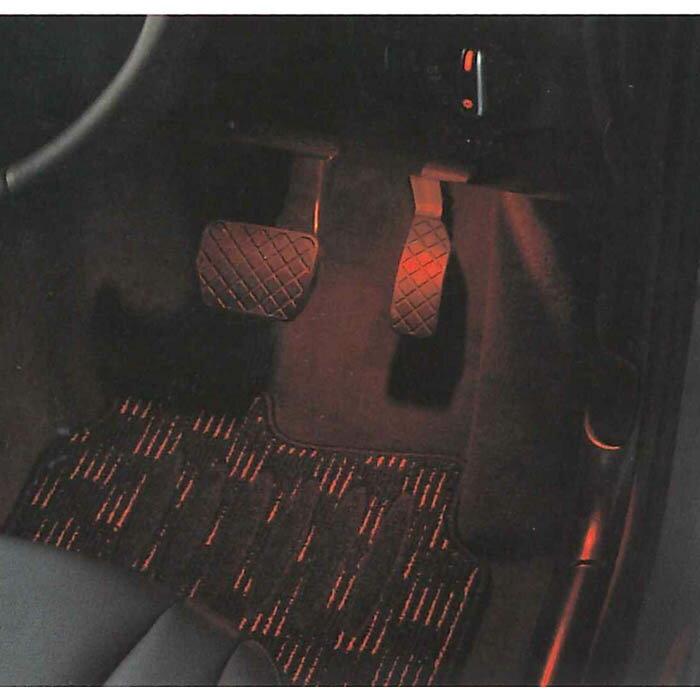 65%OFF【送料無料】 今ならポイント5倍 アウディ Audi 純正 LED フットランプ用赤色バルブ 汎用 J8XDB8R01, えにし屋 58a69024