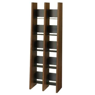 KNOX book shelf 2列(ノックス ブックシェルフ 2列)追加可能なオープンオープン本サイズ:W639×D360×H1890mm収納 スリム おしゃれ 大容量