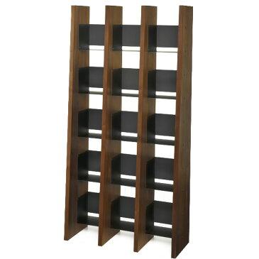KNOX book shelf 3列(ノックス ブックシェルフ 3列)W942×D360×H1890mm収納 スリム おしゃれ 大容量