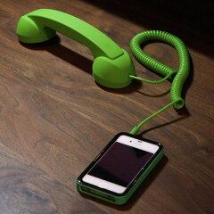 Apple社正式認証 iPhone iPod アイフォンPOPHONE 受話器型ハンドセット スマートフォン Skype F...