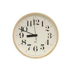 Lemnos(レムノス)掛け時計 電波時計渡辺力デザイン 2004年Good Design受賞プライウッド タ...