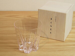 100% さくらのグラス ウイスキーや焼酎にグラスへの結露がテーブルにサクラを咲かせますカラ...