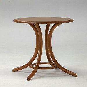 TON(チェコ製)/ベントウッドラウンドカフェテーブル8047ナチュラル
