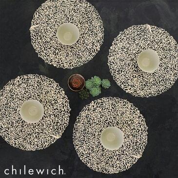 chilewich / Petal ペタル ラウンド テーブルマット(直径38cm)