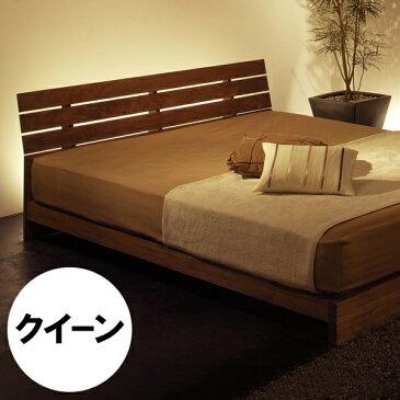 WESTERLY bed frame(Queen)ウェスタリー ベッドフレーム (クイーン)無垢材オイル仕上げすのこ:檜(ひのき)サイズ:W1630×D2066×H707(FH180)mm