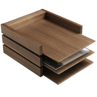 HIGHTIDE / Butler tray 3-stage (Walnut)