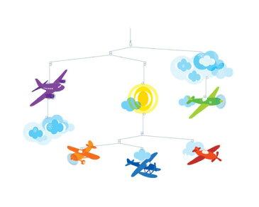 【ゆうパケット可】DJECO(ジェコ)/ モビール フライトMobiles Flight