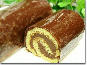 チョコロールミニサイズ!(1/2サイズ)店長がどうしても食べたい!と自ら作り出したロールケーキ