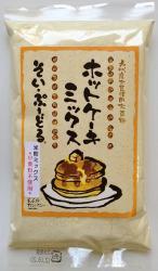熊本の自然食品【自然農園 蓮華】 そい・ぷーどるホットケーキミックス グルテンフリー(大豆粉×米粉)200g <小麦アレルギーの方に>