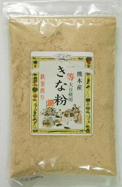 熊本の自然食品 【自然農園 蓮華】 「一等きな粉」 <熊本県産大豆のフクユタカの 検査1等使用!>150g
