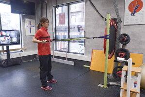 エクサーバンド ソフトテニス スポーツインテリジェンス 全身のトレーニング